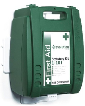 First Aid Kit 10 Person Wall Mounted