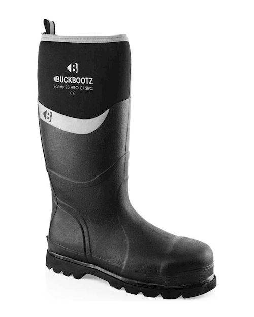 Buckbootz Neoprene Safety Wellington by Buckler
