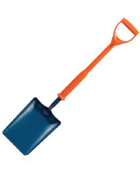 Carters No.2 Solid Socket Insulated Taper Mouth Shovel
