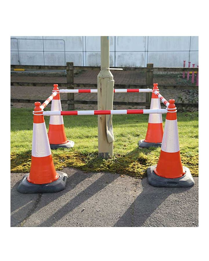 Telescopic - Extending Pole For Road Cones