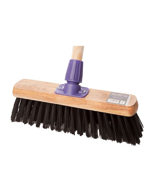 12 Inch Purple PVC Broom head With Socket