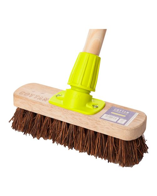 Bassline Deck Scrub Broom Head 8 Inch