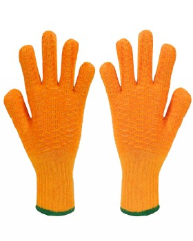 Polyco Yellow High Grip Criss Cross Glove