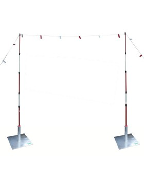 Overhead Cable Goalposts - Height Restriction Barrier