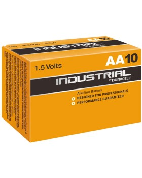 Duracell Industrial AA  Alkaline Batteries 1.5V (Pack Of 10)