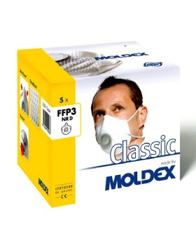 Moldex FFP3 Nr D Fine Dust Mask 2555 (Box Of Five)