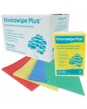 Envirowipe Plus Cleaning Cloths - Anti-Bacterial