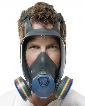 Full Face Mask ABEK1P3 Moldex 9000 Series Readypack 9432