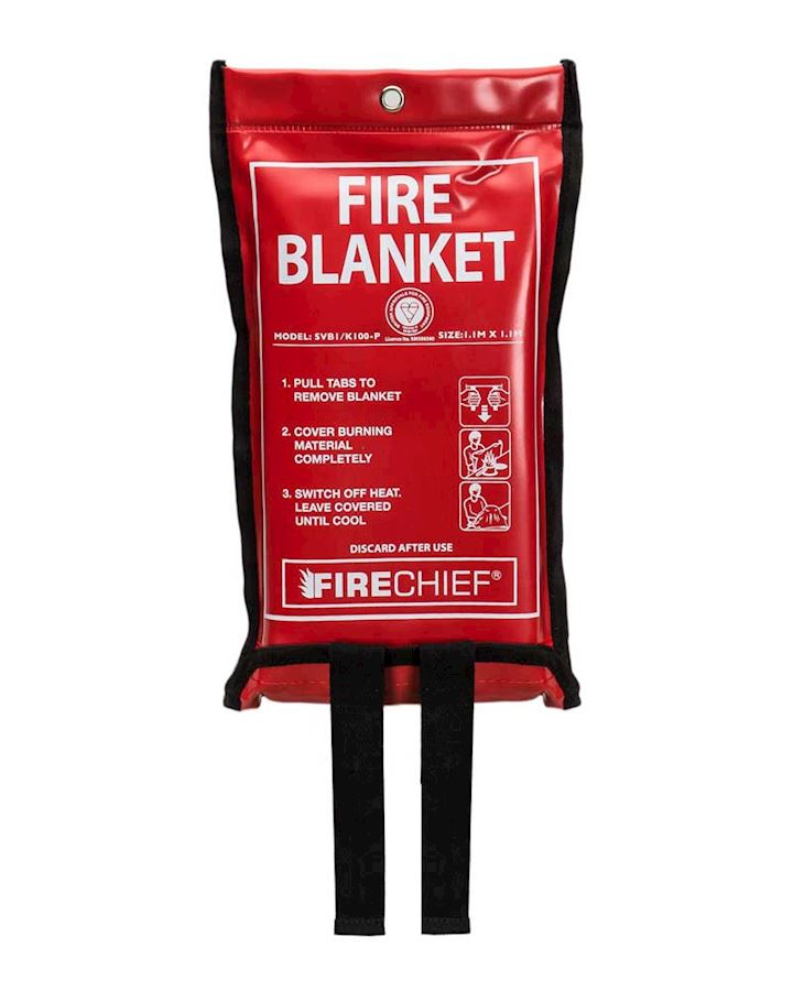 Fire Blanket in Soft Pack 1.1 x 1.1m