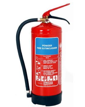Gloria 6kg Dry Powder Fire Extinguisher
