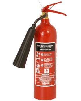 2kg CO2 Fire Extinguisher - By Gloria