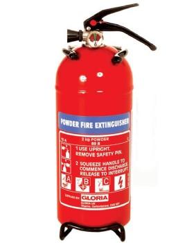 2kg Dry Powder Fire Extinguisher - Gloria