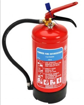 4kg Dry Powder Fire Extinguisher - Gloria