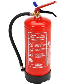 Gloria 6L Water Plus Additive Fire Extinguisher