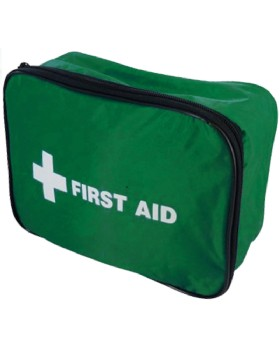 BSI Spec First Aid Kit 01 Person Off Site In Nylon Case