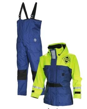 Fladen Two Piece Flotation Suit Rescue System
