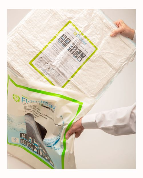 FloodSax Pack Of 5 X 22l Capacity Sandless Sandbags