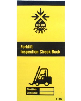 Forklift Inspection Record Pad - Booklet
