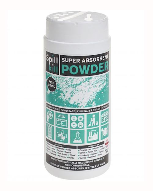 Spill Kill Super Absorbent Powder - 5ltr/500ml