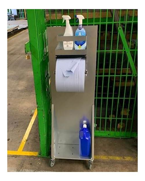 Galvanised Cleaning Station
