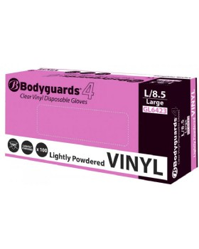 Polyco Bodyguards Vinyl Clear Disposable Glove