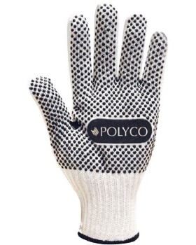 Polyco PVC Dot Coated Firmadot Glove