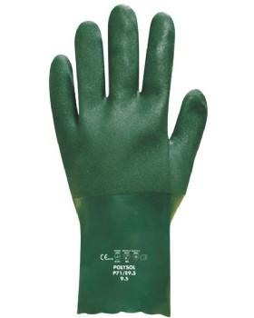 Polyco Polysol PVC Glove Sz 9.5