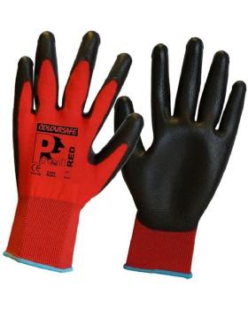 Pred-Red PU Gloves Cut Level 1