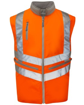 High Visibility Sleeved Body Warmer