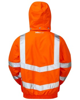 High Visibility Unlined Breathable Storm Coat Class 3