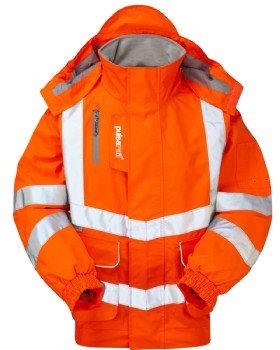 High Visibility Unlined Breathable Bomber Jacket Class 3