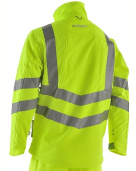 Hi Vis Softshell Yellow By Pulsar