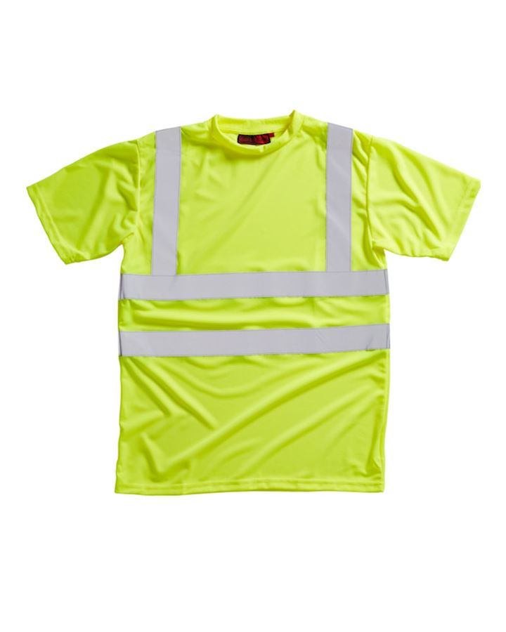 Hi Vis Yellow T Shirt Class 2