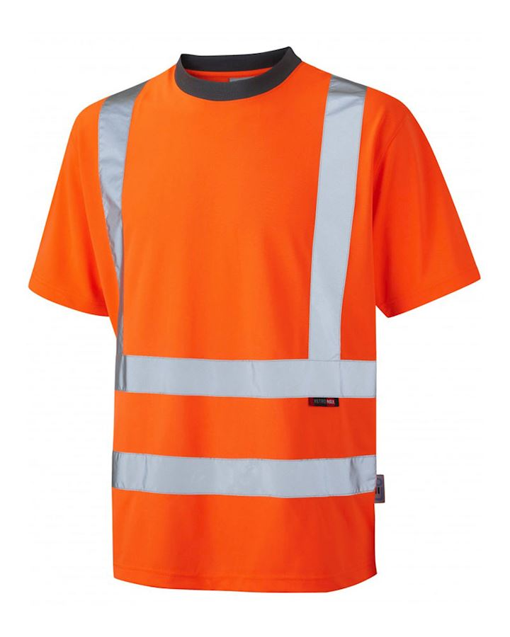 Hi Vis Orange T Shirt Class 2
