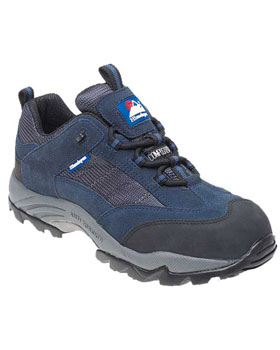 Himalayan 4031 Navy Suede Safety Trainer