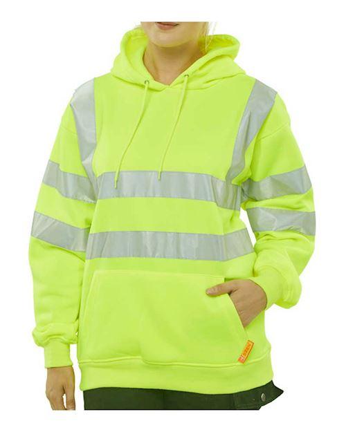 Hi-Vis Hoody Pull on Sweatshirts