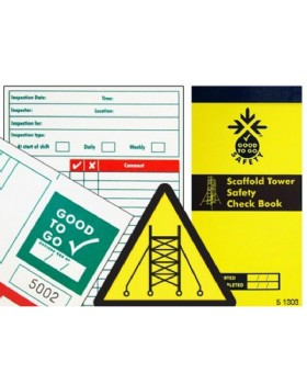 Inspection Pad Scaffold Tower - Booklet