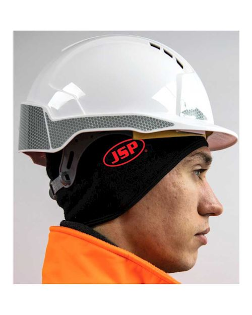JSP Thermal Safety  Helmet Beanie Black