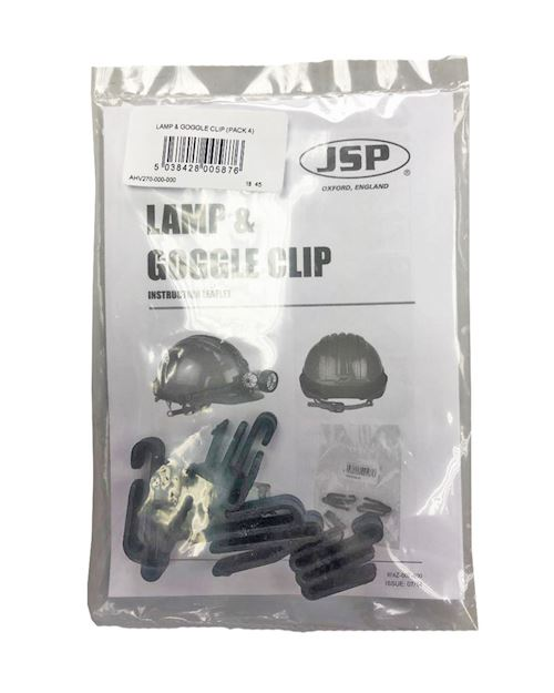 Lamp and Goggle Clips - Pack of 4