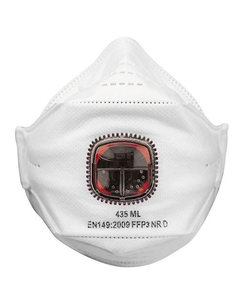 JSP Springfit P3 Valved Face Mask Pack Of 10