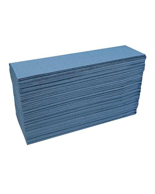 Katrin Classic Z-Fold Hand Towels Blue 344891