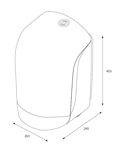 Inclusive Centerfeed M Dispenser 90120