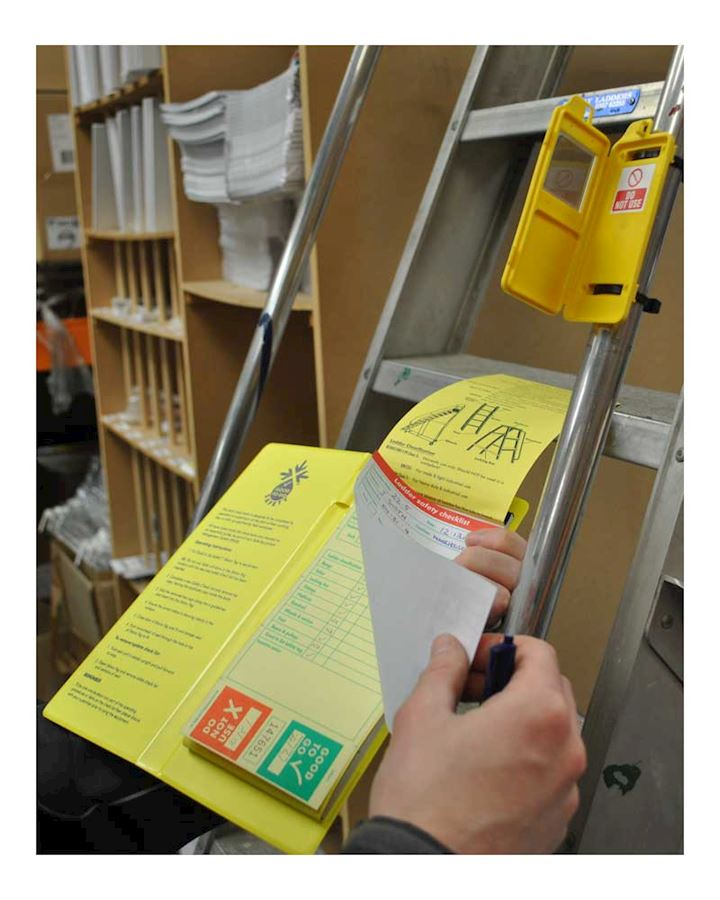 Ladder Inspection Record Pad - Booklet