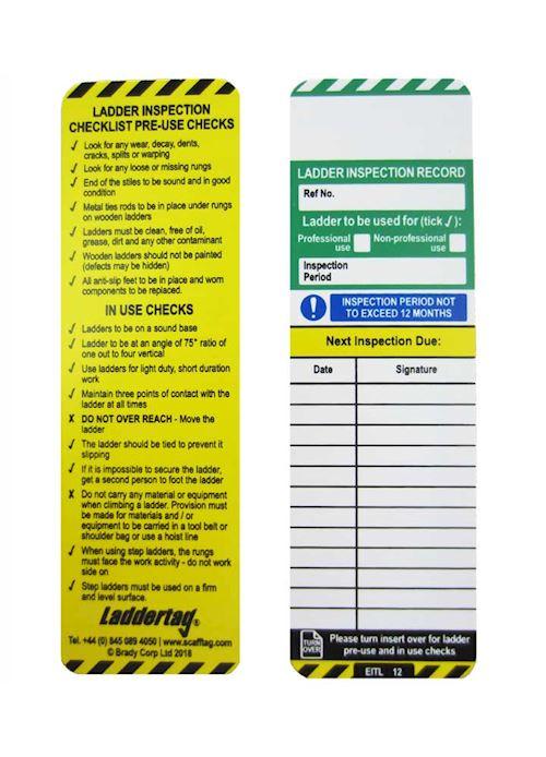 Laddertag Ladder Status Kit