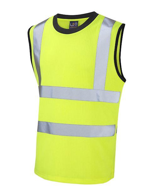 Hi Vis Yellow Ashford Class 2 Comfort Vest