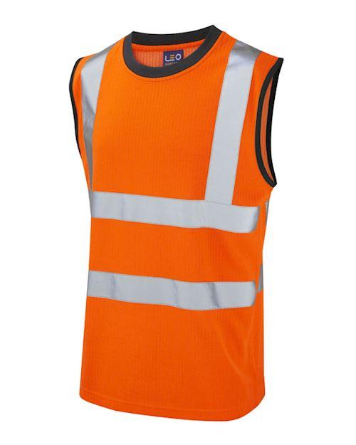 Hi Vis Orange Ashford Class 2 Comfort Vest