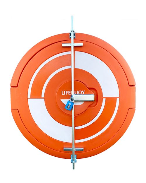 Lockable Lifebuoy Cabinet For 30 Inch Lifebuoys