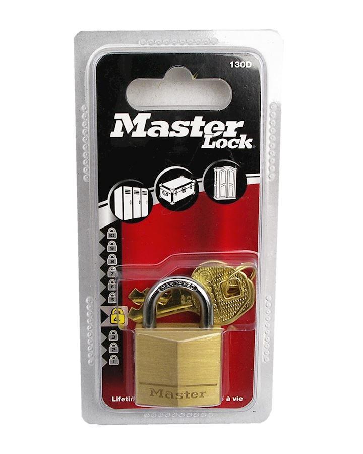 Master Padlock Brass 130D