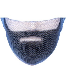 Beard Snood Blue Metal Free (Pack 36)