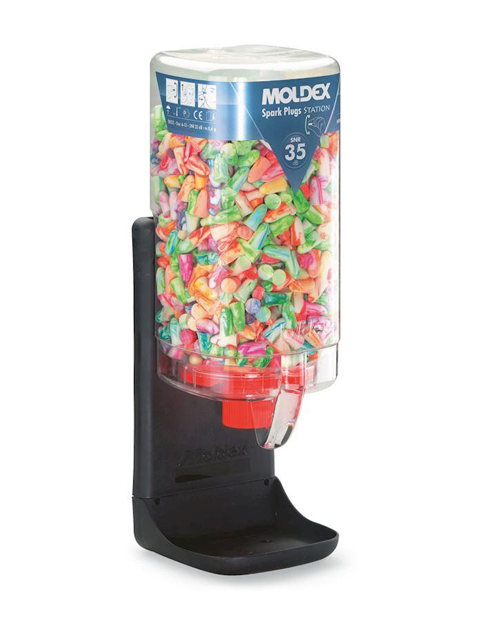 Moldex Spark Plugs Station 500 Pairs SNR 35 dB